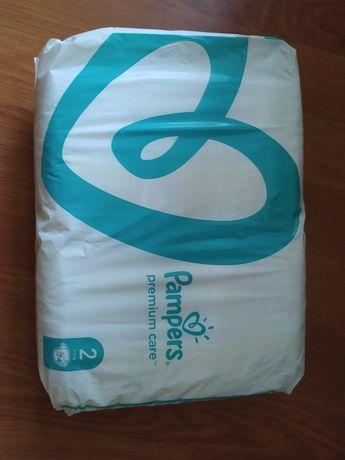 Pampers premium care 2 (4-8 кг) 74шт.