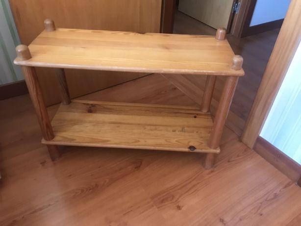 Mesa em pinho mel (apoio)