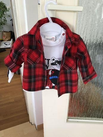Bluzka i koszula firmy coccodrillo