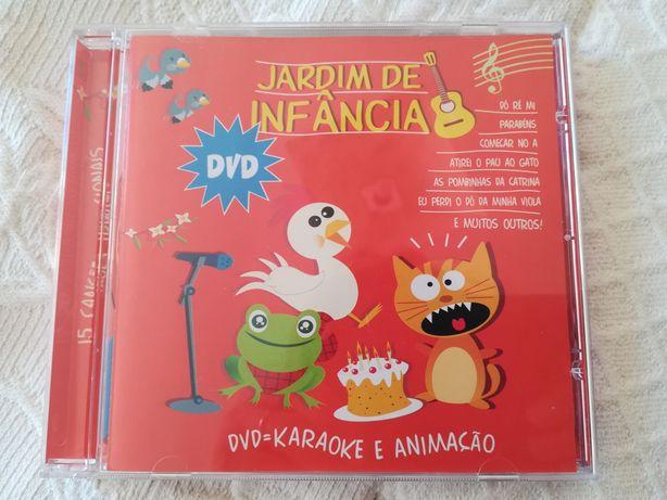 """DVD """"Jardim de Infância 1"""" - Música Infantil"""