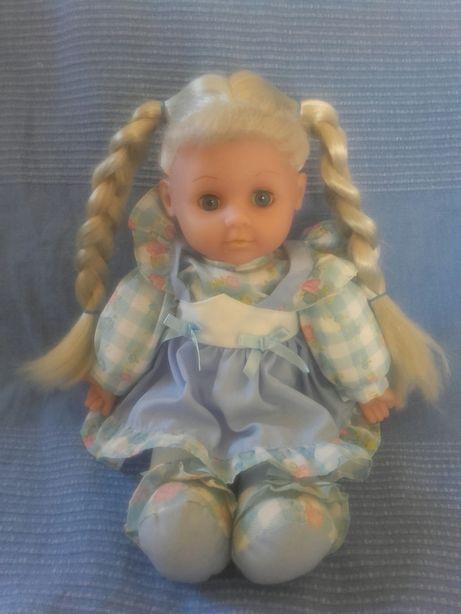 Stara lalka gumowo szmaciana kolekcjonerska Simba