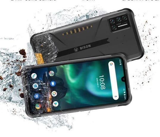 """Смартфон UMIDIGI BISON IP68/IP69K защищенный 6 + 128 ГБ 6,3"""" FHD NFC"""