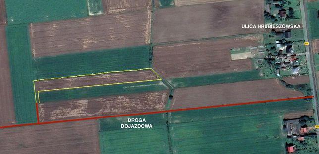 Działka rolna / pole przy ulicy Hrubieszowskiej w Mirczu - 0.86 ha