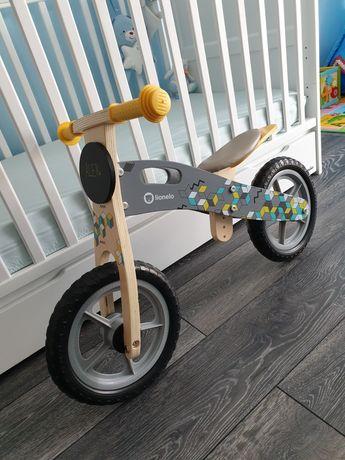 Rower biegowy drewniany Lionelo Casper jak NOWY