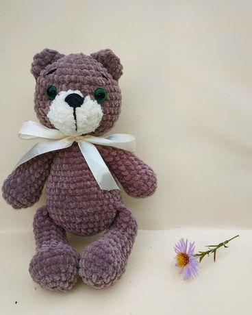 Плюшевий міні ведмедик