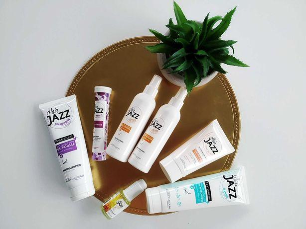 Wielki Zestaw NOWYCH kosmetyków do włosów marki Hair Jazz. 7 sztuk!