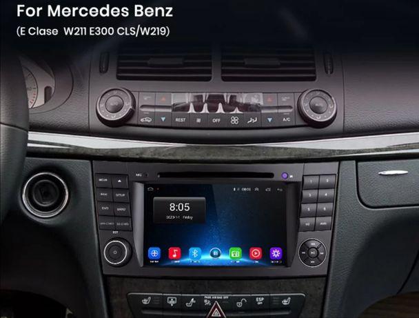 Radio Android 10 para Mercedes w211(Novo)