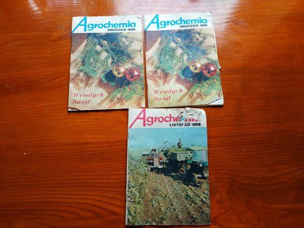 Sprzedam czasopismo Agrochemia rok 1969 stara gazeta antyk zabytek