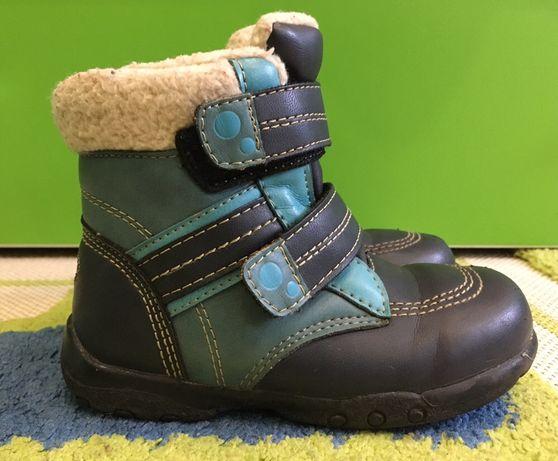 Чобітки термо, дитяче взуття, чоботи, 24 розмір, тепле зимове взуття