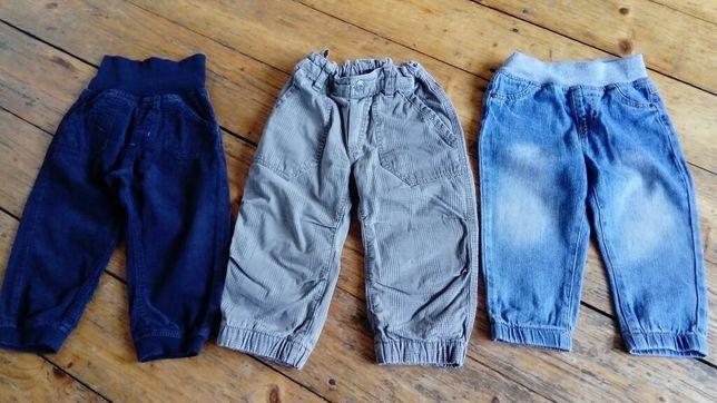 Super Spodnie HM Lupilu 86 jak nowe