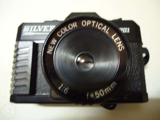Máquina fotográfica Silver