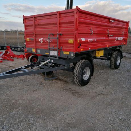 Metal-Fach przyczepa rolnicza dwuosiowa T 6t T 710/1 6T od ręki