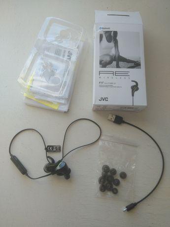 Słuchawki bezprzewodowe JVC sportowe FIT HA-ET50BT-B jak nowe