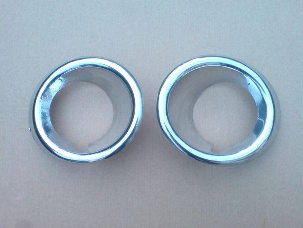 Chrom ramka halogenu prawa + lewa Opel Mokka