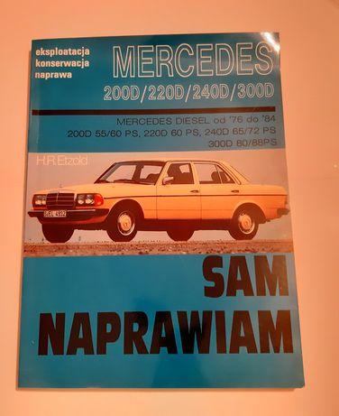 Książka podręcznik Sam naprawiam Mercedes
