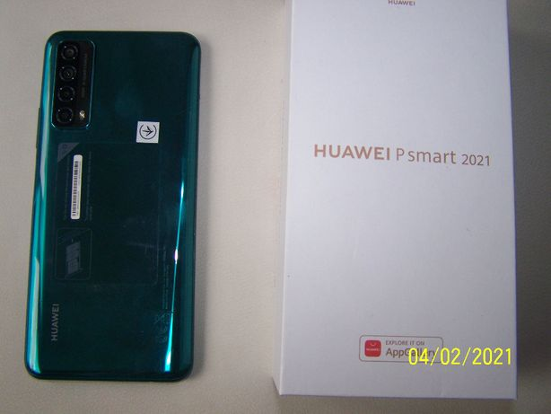 Huawei psmart 2021 zielony