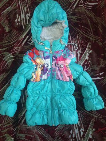 Куртка для девочки деми.