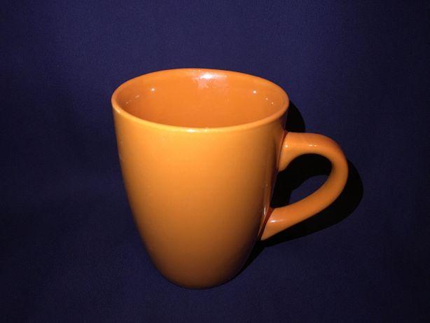 Чашка яркая кружка оранжевая