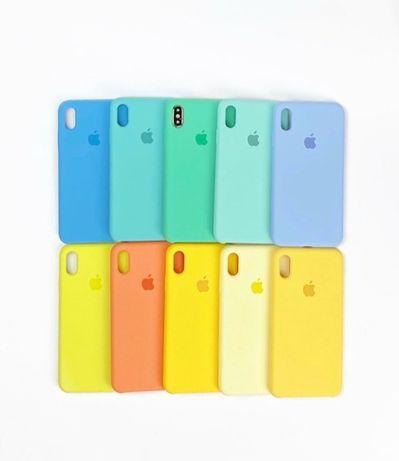 Силиконовый чехол на айфон Iphone 7 8 SE 6 12 5 PLUS pro XR MAX 11 Xs