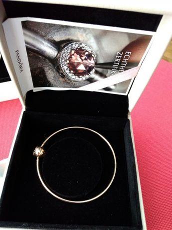 Pandora Essence bransoletka złoto 585, nowa, oryginalna