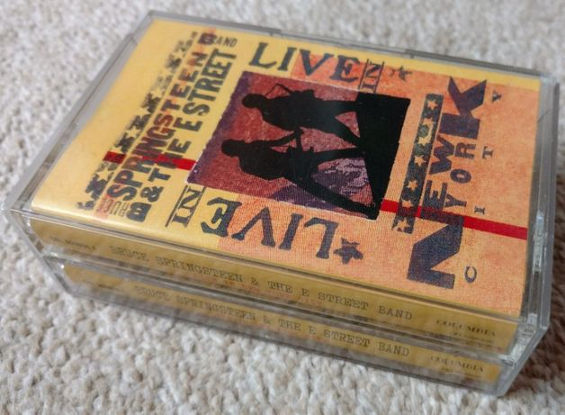 Bruce Springsteen - Live in New York City - 2 x kaseta audio