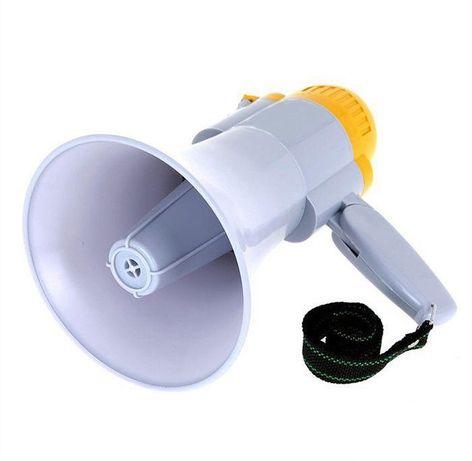 Мегафон громкоговоритель ручной рупор MEGAPHONE аккумуляторный