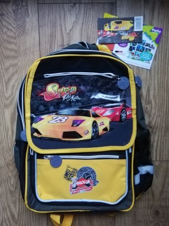 Plecak szkolny nowy dla chłopca
