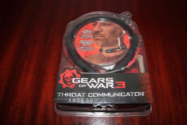 Gears of War 3 Throat Communicator