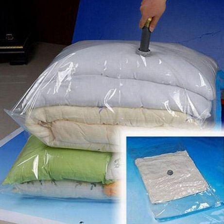 Saco de vácuo NOVO super prático para arrumar roupa