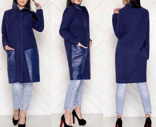 Пальто женское теплое