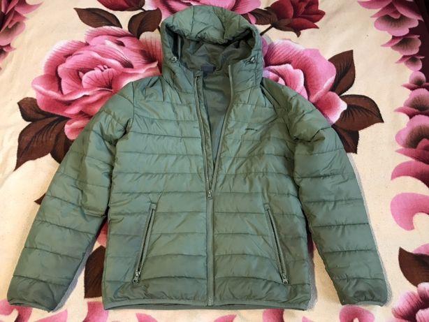 Демисезонная куртка на 13-15 лет (теплая зима) рост 165-175см