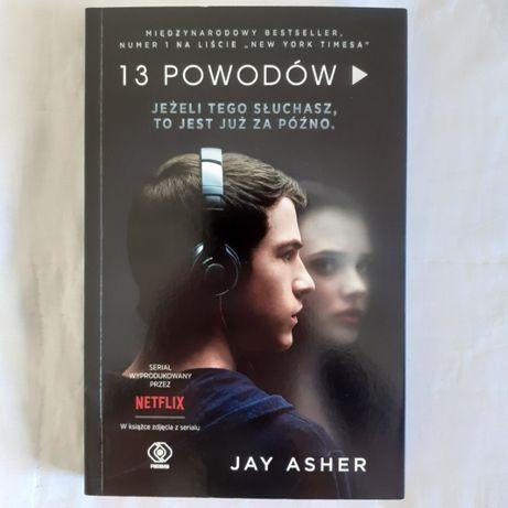 Książka 13 powodów / 13 Reasons Why – Jay Asher