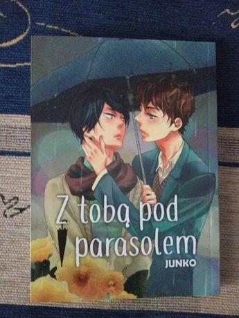 "Manga ""Z tobą pod parasolem"" Dramat, Romans Josei yaoi 18+"