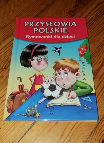 Książka Przysłowia Polskie Rymowanki dla dzieci
