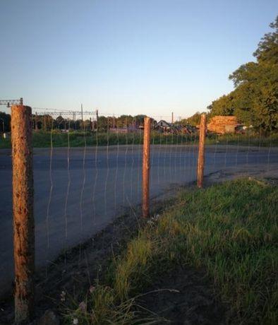 NAJTANIEJ Ogrodzenie budowlane z siatki leśnej tymczasowe
