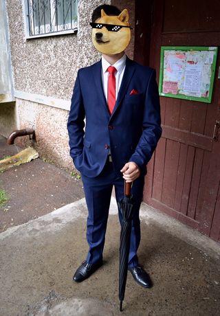 Мужской костюм выпускной свадебный