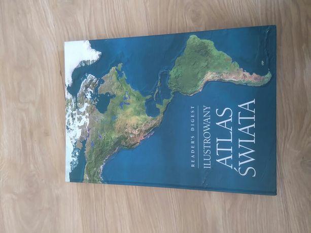 Atlas świata Duży