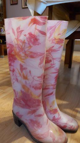 Kalosze damskie nowe piękny elegancki fason i kolorystyka