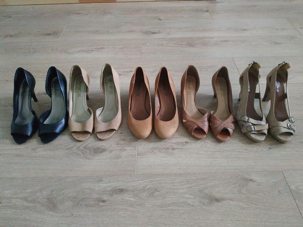 5 par butów Lasocki Wojas czółenka 39