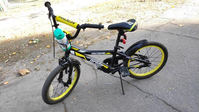 Велосипед детский Rider pride колеса 18
