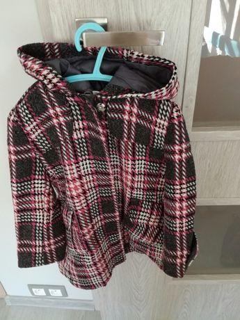 Kurtka plaszczyk bolerko bluza z kapturem dla dziewczyki rozm 104