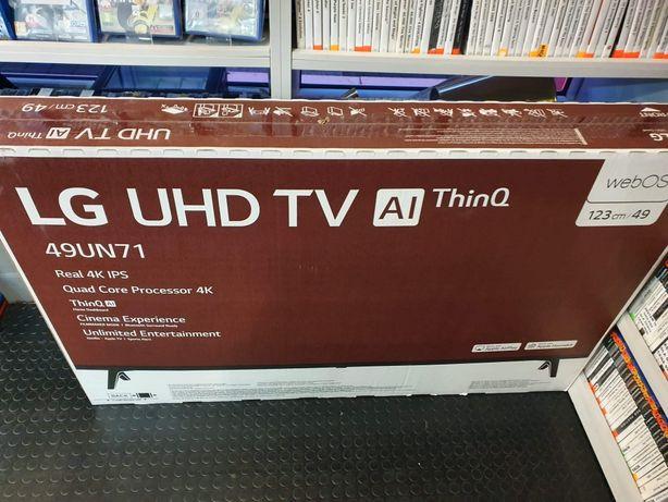 """Telewizor LED LG 49UN711C 49 """" 4K UHD czarny"""