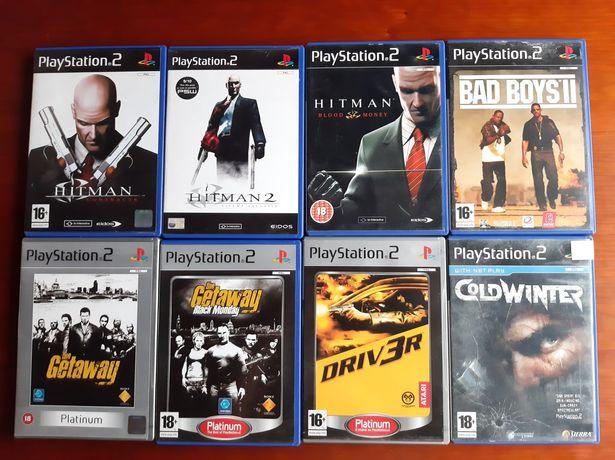 Lote jogos playstation 2 (5€ cada)