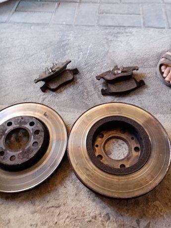 Комплект передних тормозных дисков рено меган 3