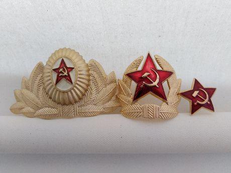 Офицерские кокарды времен СССР