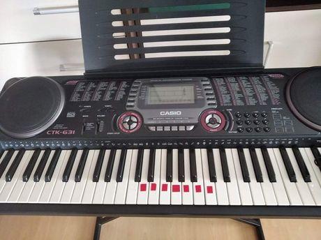 Keyboard Casio ctk 631 GRATIS gitara akustyczna