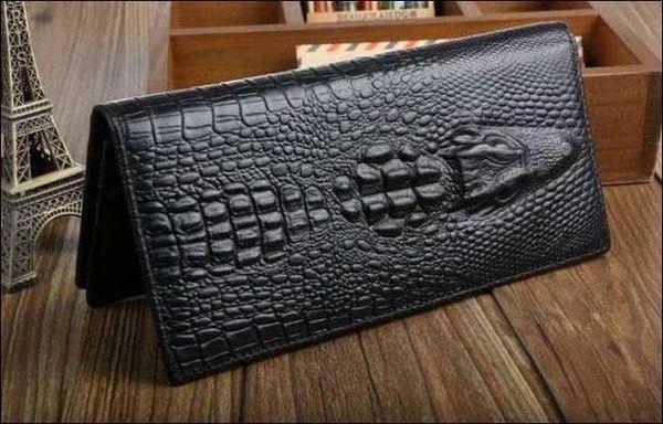 Портмоне Wild Alligator поможет вам содержать в порядке ваши деньги.