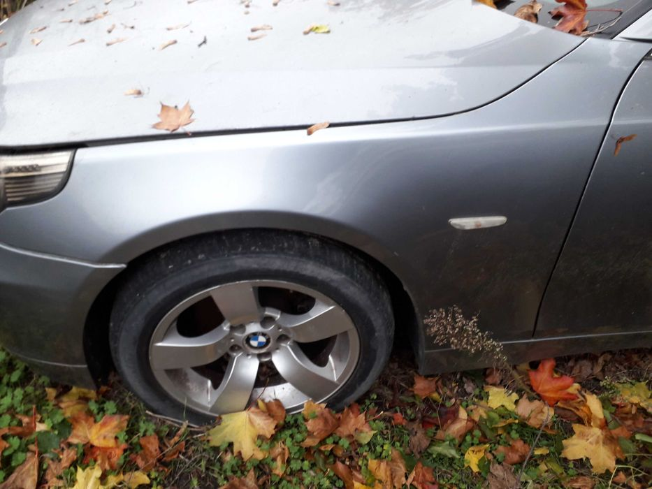 BMW E60 e61 SILBERGRAU  Klapa Błotniki Drzwi Maska Zderzak Lampy przód Słupca - image 1