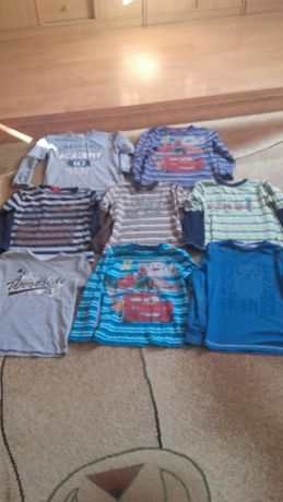 Bluzka,bluzeczka dlugi rekaw ,t-shirt,koszulka rozm 134