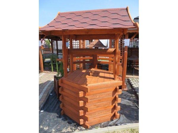 studnia, studnie ogrodowe drewniane, na krąg,kręgi 70,80,90,100-140cm